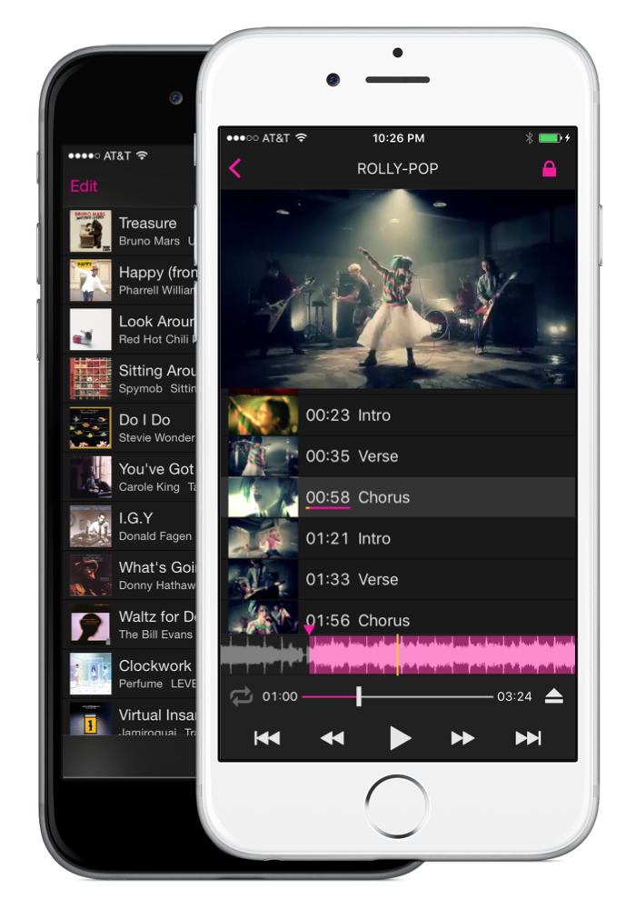 Playsections Audio Video Player For Ios